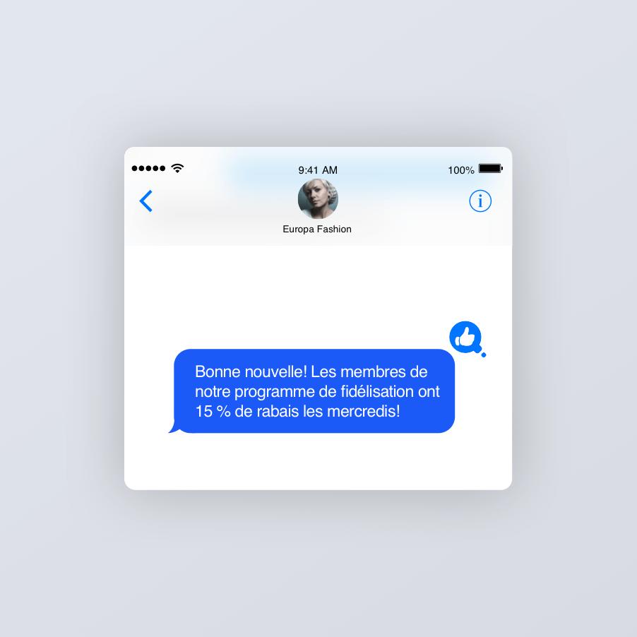 Offres de SMS automatisés