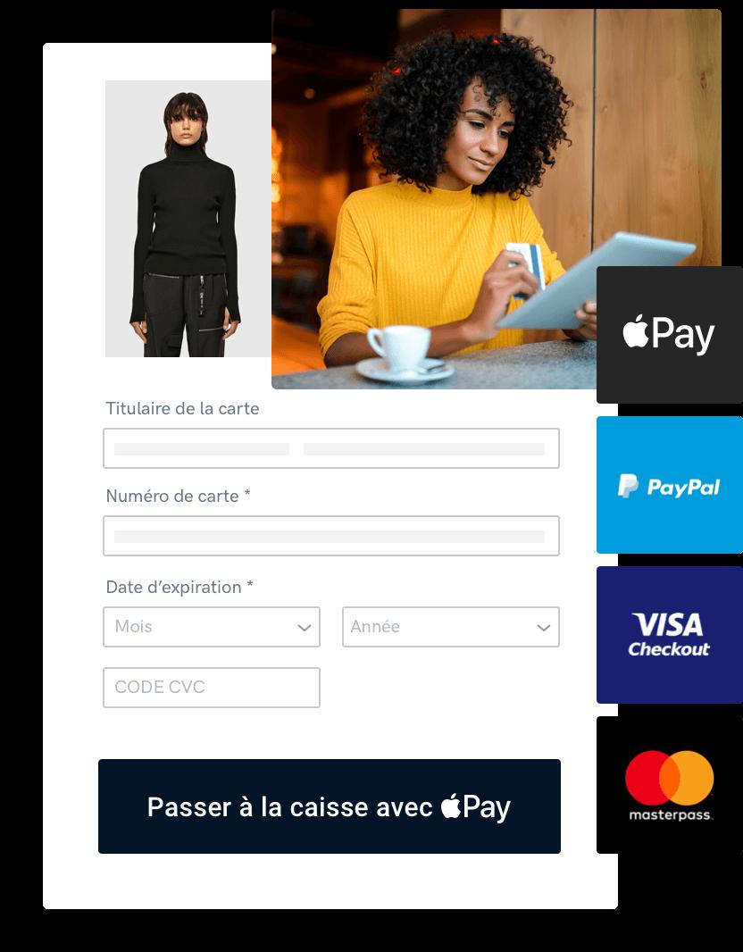 Accepter un paiement sur un site Web via une passerelle de paiement en ligne