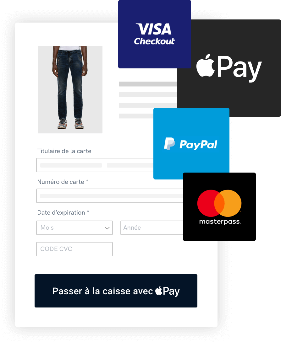 Page de paiement hébergée