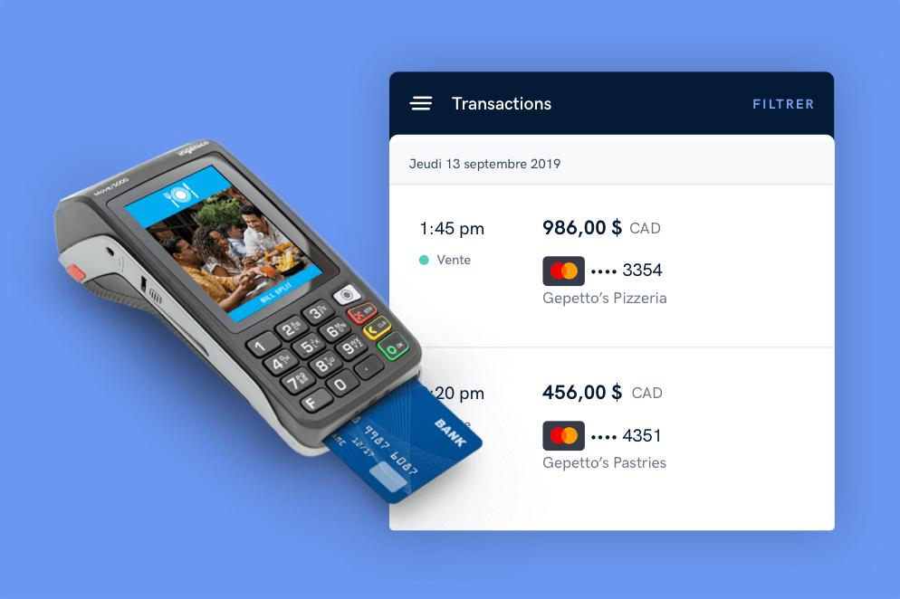 Traitement des paiements