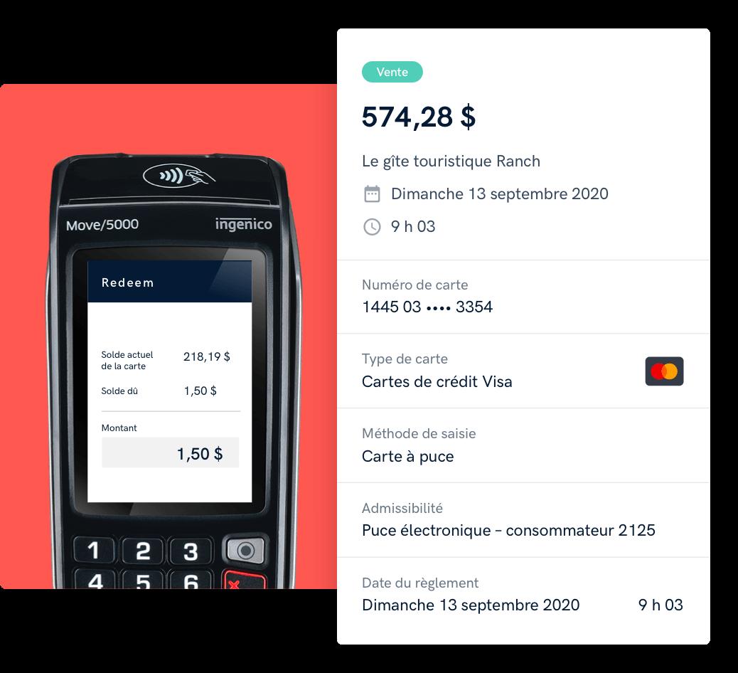Une solution de traitement des paiements intégrée